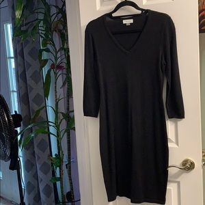 Calvin Klein V-neck sweater dress new without tags